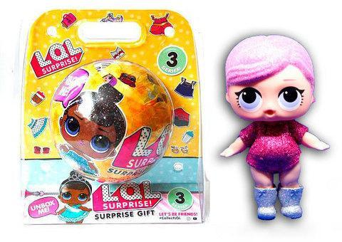 """Игрушка L.O.L Surprise """"Большой шар"""" Блестящая серия [качественная реплика], фото 2"""