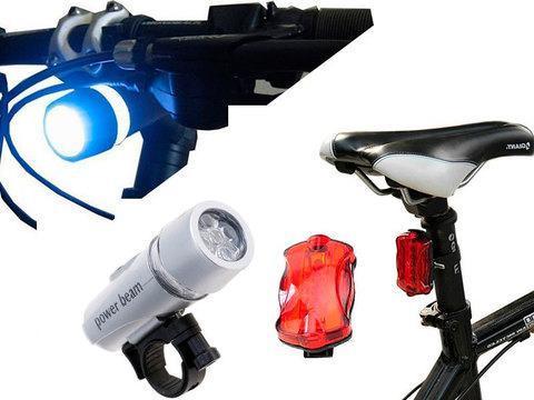 Комплект велосипедных фонарей WJ-101, фото 2