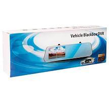 """Зеркало-видеорегистратор с камерой заднего вида Vehicle Blackbox DVR Q9X Q9L [Full HD 1080, экран 7""""], фото 3"""