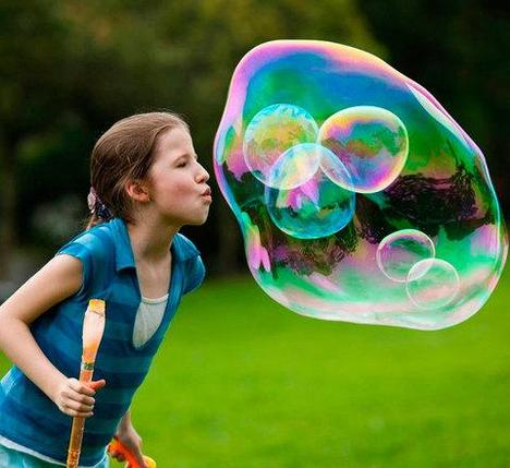 Набор для пускания двойных мыльных пузырей GIANT BUBBLE, фото 2