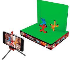 Игровой набор StikBot ZANIMATION Studio «Анимационная студия со сценой», фото 3