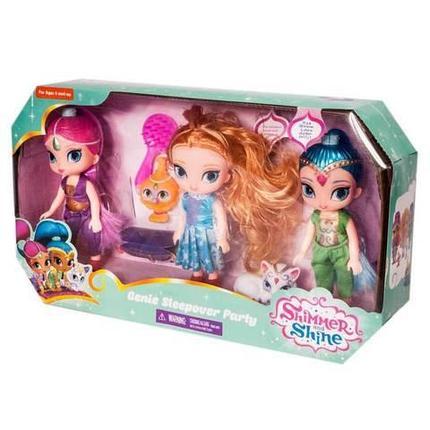 Набор кукол «Shimmer and Shine» Genie Sleepover Party, фото 2