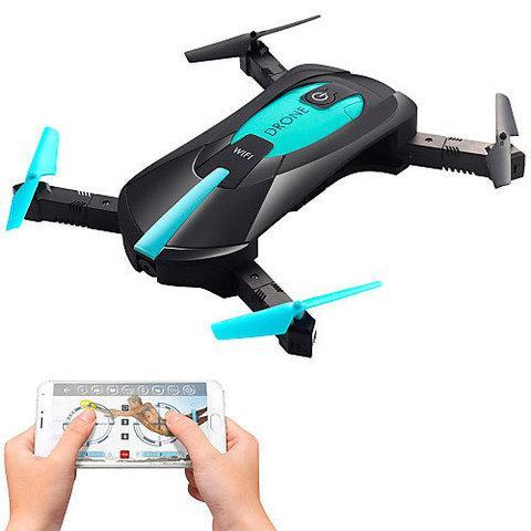 Квадрокоптер карманный WI-FI DRONE JYO18 с видеокамерой 2MP