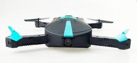 Квадрокоптер карманный WI-FI DRONE JYO18 с видеокамерой 2MP, фото 3