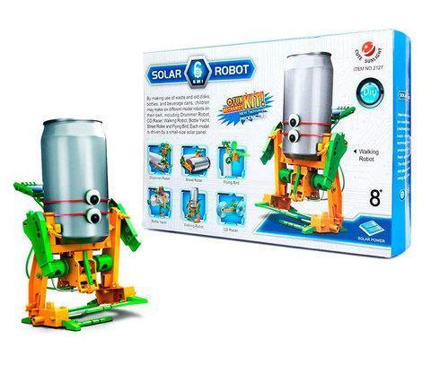 Конструктор на солнечных батареях SOLAR ROBOT 6 в 1 NO.2127, фото 2