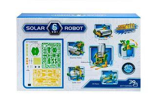 Конструктор на солнечных батареях SOLAR ROBOT 6 в 1 NO.2127, фото 3