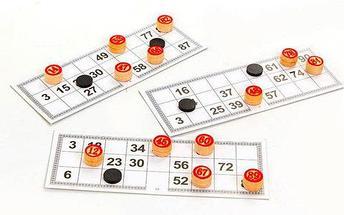 Игра настольная «Русское лото» в деревянном футляре, фото 2