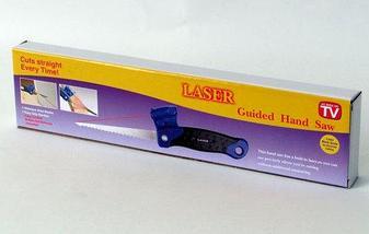 Пила ручная с лазерной разметкой LASER GUIDEED {Лазер Гуайдед}, фото 3