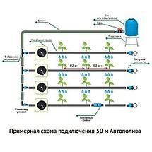 Система капельного автоматического полива «Автополив» (на 150 метров грядок), фото 3
