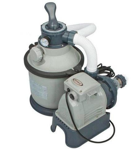 Фильтр-насос песочный для бассейна INTEX 28644 [4000 л/ч; 1200 галлонов]