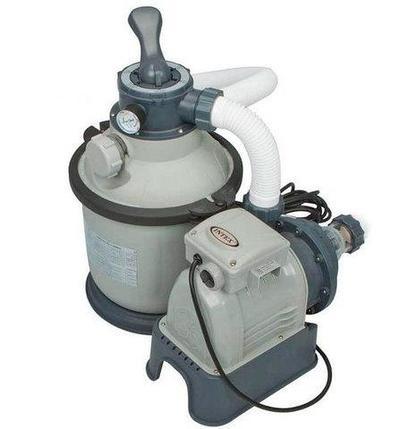 Фильтр-насос песочный для бассейна INTEX 28644 [4000 л/ч; 1200 галлонов], фото 2