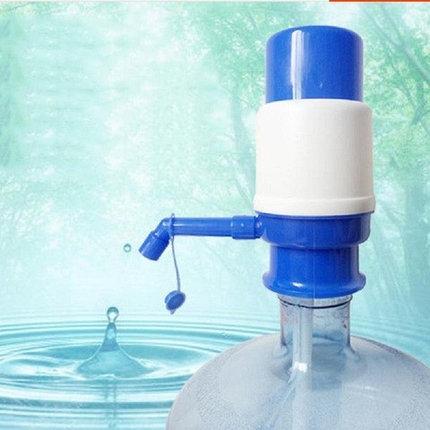 Помпа механическая для воды Drinking Water Pump для малых бутылей, фото 2
