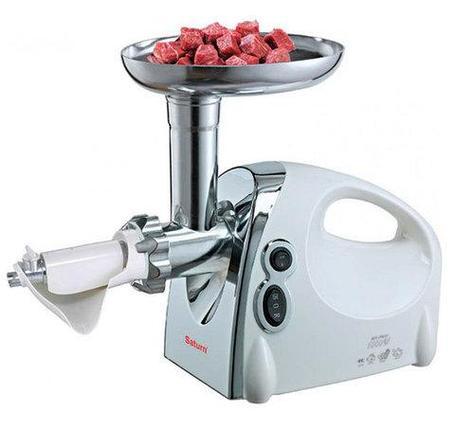 Мясорубка электрическая с насадкой для томатного сока Saturn ST-FP7093, фото 2