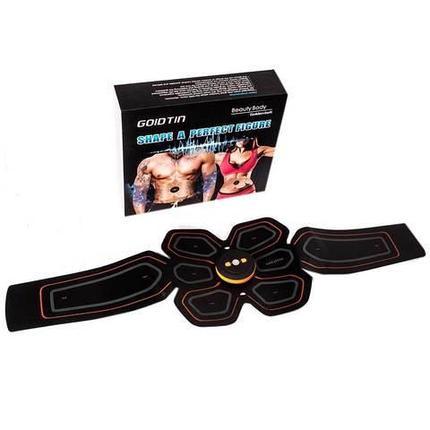 Пояс-миостимулятор SHAPE A PERFECT FIGURE Beauty Body Golden belt, фото 2
