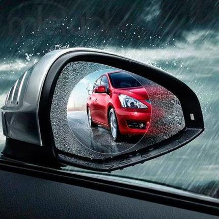 Пленка «Антидождь» на боковые зеркала для автомобиля, фото 2