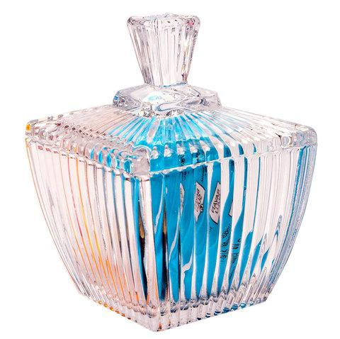 Сахарница GLASS SUGAR BOWL