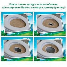 Система для приучения кошек к унитазу CitiKitty Cat Toilet Training Kit, фото 3