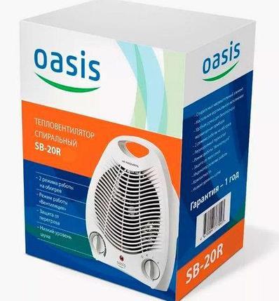Тепловентилятор спиральный вертикальный OASIS SB-20R [C], фото 2