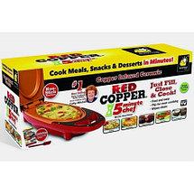 Омлетница керамическая электрическая RED COPPER 5 minute chef, фото 3