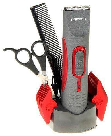 Набор для стрижки волос с беспроводным триммером PRITECH PR-760