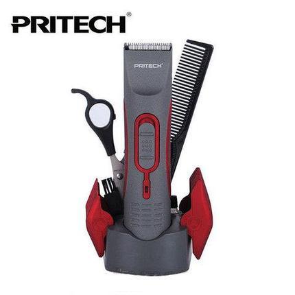 Набор для стрижки волос с беспроводным триммером PRITECH PR-760, фото 2
