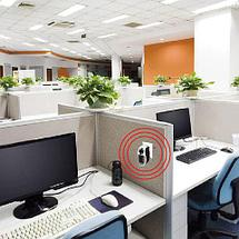 Обогреватель портативный с LED-дисплеем и таймером PLUGGABLE Mini Heater Fan [500 Вт], фото 2