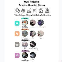 Перчатки-щетки многоцелевые силиконовые KIPA, фото 3