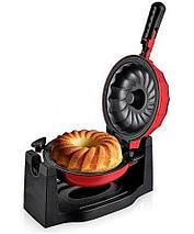 Кексница электрическая DAMFOX Cake maker MK6816, фото 2
