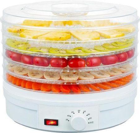 Дегидратор с терморегулятором FOOD DEHYDRATOR SX-770 {сушилка для овощей и фруктов}, фото 2