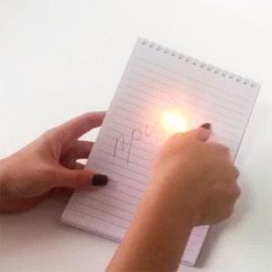 Ручка с волшебными исчезающими от огня чернилами «ПИШИ-СТИРАЙ»