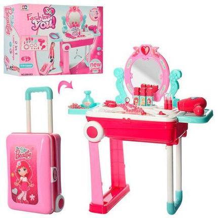 Игрушечное трюмо-чемоданчик для девочек с аксессуарами So, Fashion YOU {NO.008-923}, фото 2