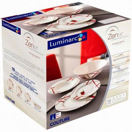Столовый сервиз Luminarc Couture (19 предметов), фото 2