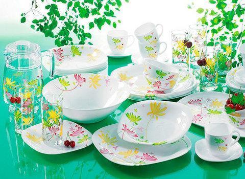 Столовый сервиз Luminarc Crazy Flowers (46 предметов), фото 2