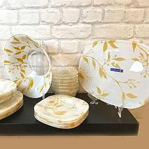 Столовый сервиз Luminarc Etude Gold на 12 персон [69 предметов], фото 3