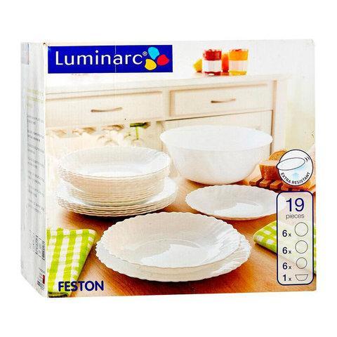Столовый сервиз Luminarc Feston (19 предметов)