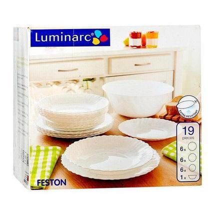 Столовый сервиз Luminarc Feston (19 предметов), фото 2