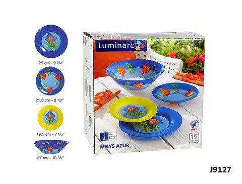 Столовый сервиз Luminarc Melys Azur (19 предметов), фото 2