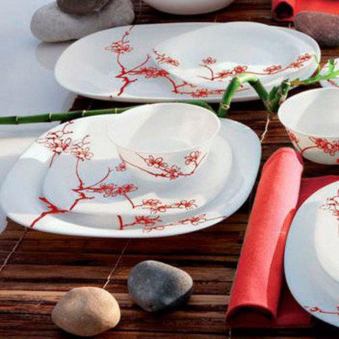Столовый сервиз Luminarc Ming Red (19 предметов)