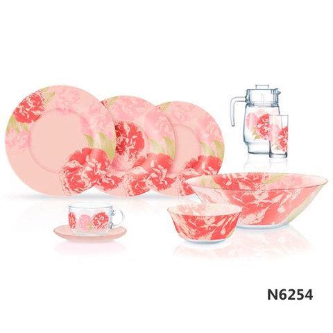 Столовый сервиз Luminarc Pastel Pink (46 предметов)