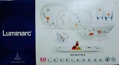 Столовый сервиз Luminarc Sequins (50 предметов), фото 3