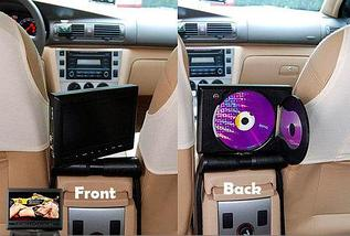 Телевизор с DVD-плеером автомобильный CAR CENTRAL ARMREST DVD/TFT LCD MONITOR, фото 2