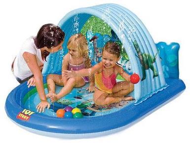 Игровой центр с фонтанчиками INTEX 57127 Toy Story {155x130x84 см}