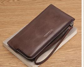 Мужское портмоне, клатч Coiacii (кожа Split), фото 2