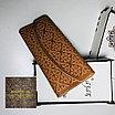 Женский клатч портмоне  с гравировкой, фото 6