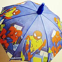 """Зонт детский """" Человек паук"""" в чехле-стакане"""