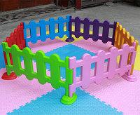 Пластиковый детский заборчик, фото 1
