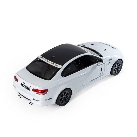 Радиоуправляемая модель автомобиль Rastar BMW M3 Sport, 1:14, Управление: Джойстик, Материал: Пластик, Цвет: Б