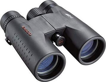 Бинокль туристический Tasco Essentials Roof 8x42, Сфера применения: Для охоты в рощах, Туризм, Цвет: Чёрный, (