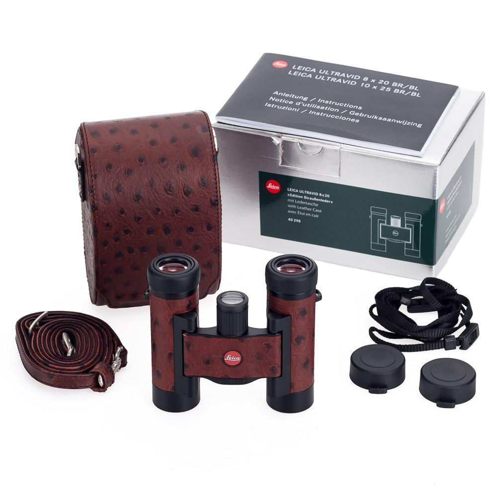 Бинокль туристический Leica Ultravid BL 8x20, Относительная яркость: 6,25, Сфера применения: Для активного отд
