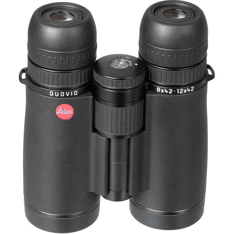 Бинокль охотничий Leica Duovid 8-12x42, Относительная яркость: 27,6-12,2, Сфера применения: Для охоты в поле,